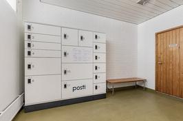 Taloyhtiössä omat postilokerot