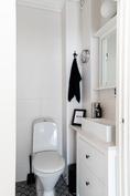 Asuinkerroksen erillinen wc