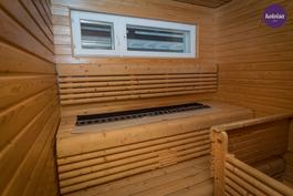 Sisällä oleva sauna