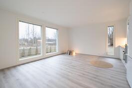 Kuva vastaavasta peilukuvallisesta asunnosta.