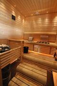 Näyttävä sauna