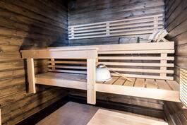 Sauna on remontoitu vuonna 2003