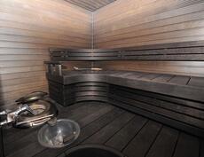 sauna, piharakennus