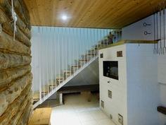 takkahuone saunatilojen yhteydessä