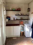 Kodinhoitohuoneosio pesuhuoneessa