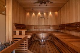 Upea saunaosasto/ Fin bastu