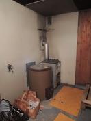 Kellarikerroksen saunaosastolta.
