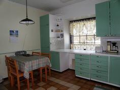 keittiössäkin on tilaa