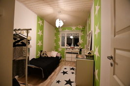 Makuuhuone alakerta