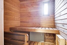 Sauna remontoitu 2020