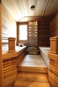 Tyylikäs sauna!