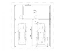 Autotalli/katos/varasto lisähintaan