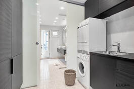 erillinen tila pyykkihuollolle