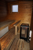 Oma tilava sauna