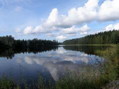 laavulta järvelle