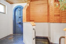 kylpyhuone ja oleskelu-allas