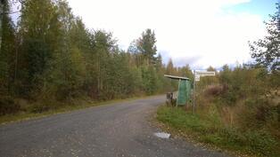 Määräalan raja yhtyy Viitarannantiehen kuvan vasemmassa laidassa, kuvio 3