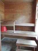 päärakennuksen saunaa