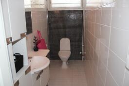 Kolmion erillinen wc