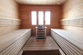 Tilava sauna!!