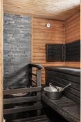 Tässä saunassa unohtuu työpäivän stressi!