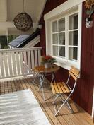 veranta yläkerrassa