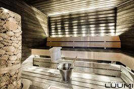 sauna lämpenee joka päivä