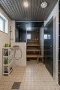 Talon kylpyhuone-sauna