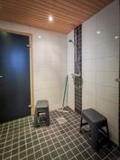 Taloyhtiön saunaosaston suihkut