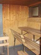 Taloyhtiön saunatilat on remontoitu v. 2001