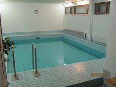 Taloyhtiön saunatiloissa on asukkaiden iloksi myös uima-allas