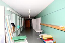 Uudemman koulun yläkertaa