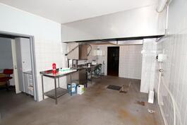 Vanha koulun keittiö
