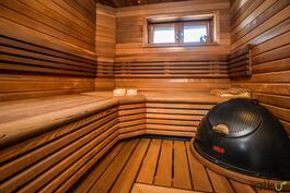 Heti valmis - kiuas mahdollistaa saunomisen milloin vain!