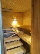 Taloyhtiön uusittu sauna