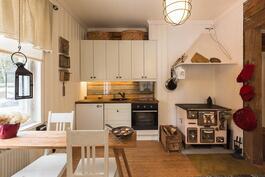 keittiö remontoitu 2013