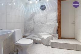 Pohjakerroksen wc-tila