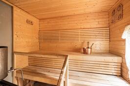 Sauna mökissä
