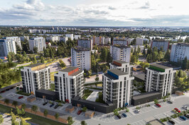 Tuiran Kaarre rakennetaan entisen Lassinkallion koulun alueelle hyvien kulkuyhteyksien ja palveluiden äärelle.