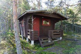 Pohjoispuolella oleva sauna