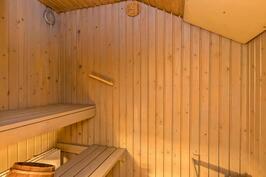 Vuokra-asunnon sauna