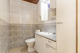 Isoimman asunnon wc-tila