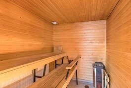 Isoimman asunnon sauna