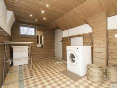 Kodinhoitohuone kellaritilassa - Klädvårdsrum i kä