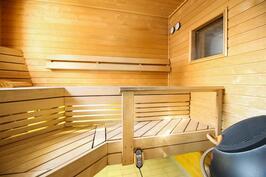Hetivalmis sauna