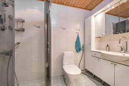 yläkerta wc suihku