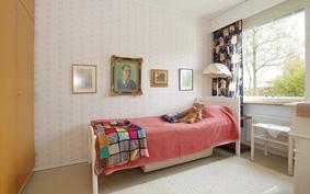 tehokkaasti käytetyt neliöt mahdollistavat erillisen makuuhuoneen