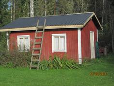 Varasto-puulato - entinen sauna