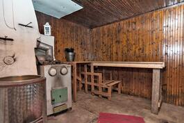 toisen puolen sauna