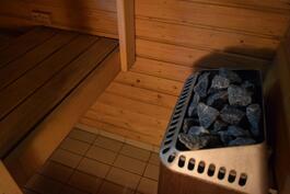 Jokaisessa asunnossa on sauna.